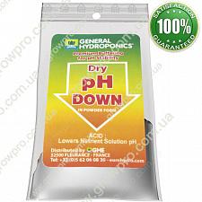 Terra Aquatica (GHE) pH Down Dry 25g (собст. фасовка)
