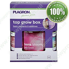 Комплект добрив PLAGRON Top Grow Box 100% Terra