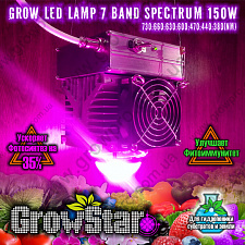 Led світильник Growstar 150W spectrum 7