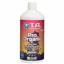 Органическое удобрение Terra Aquatica Pro Organic Bloom (GHE BioThrive Bloom) 1L