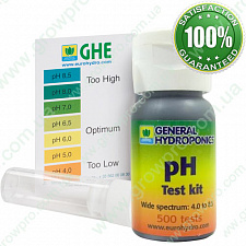 GHE pH test kit 60 ml