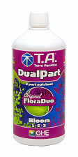 Минеральное удобрение Terra Aquatica DualPart Bloom (GHE FloraDuo Bloom) 1L